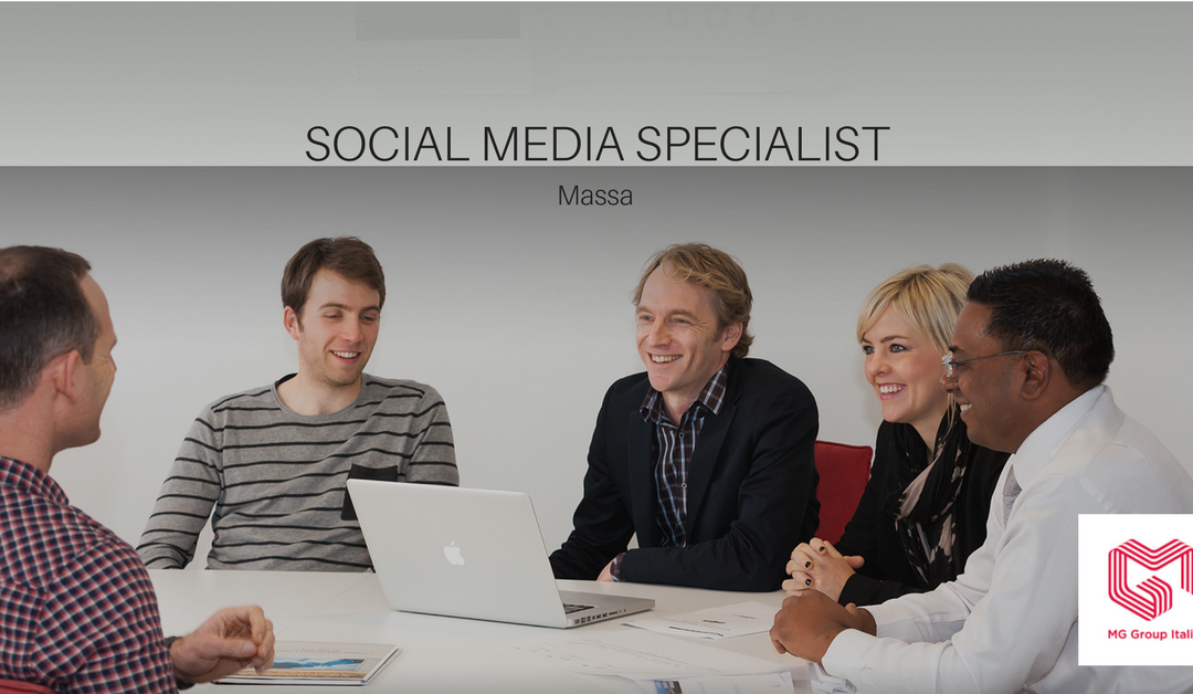 Social Media Specialist – Massa – Mg Group Italia