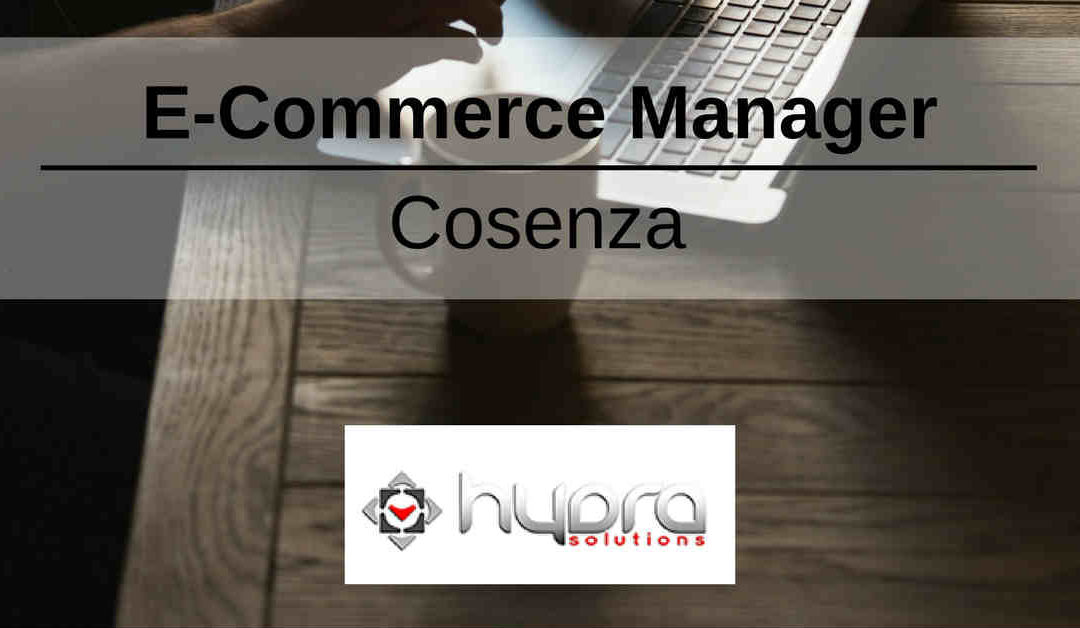 E-Commerce Manager – Cosenza – Hydra Solutions