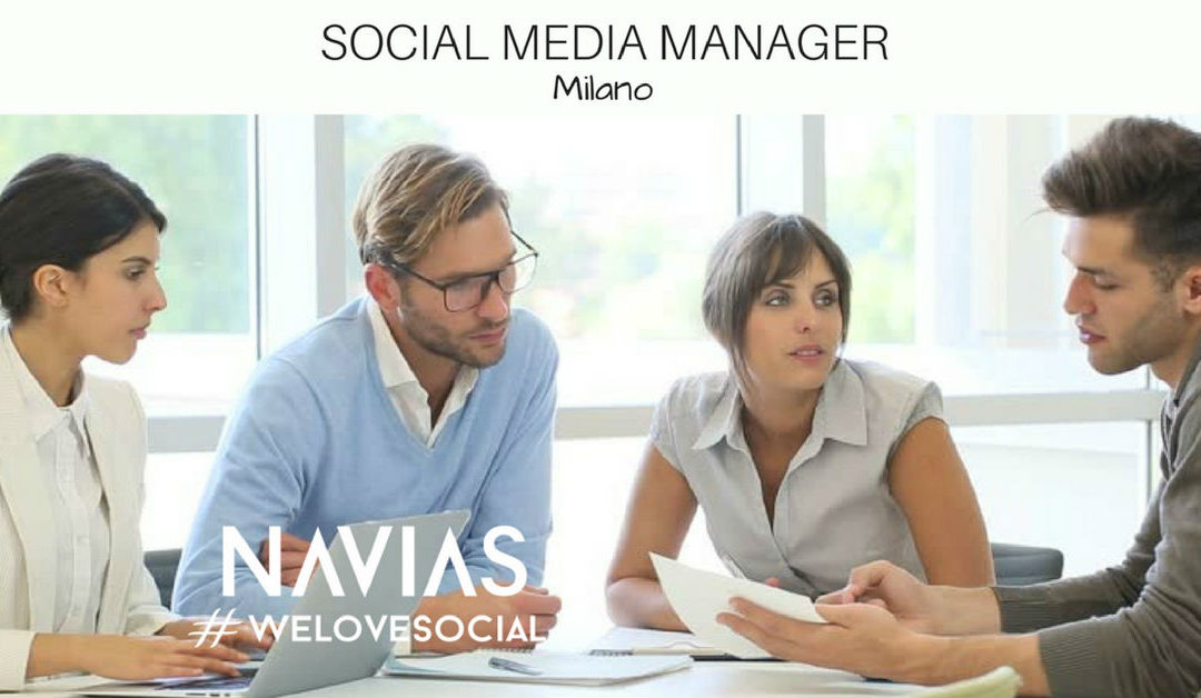 Social Media Manager – Milano – Navias