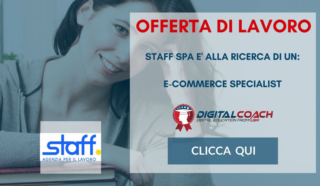 E-Commerce Specialist – Monza – Staff Spa