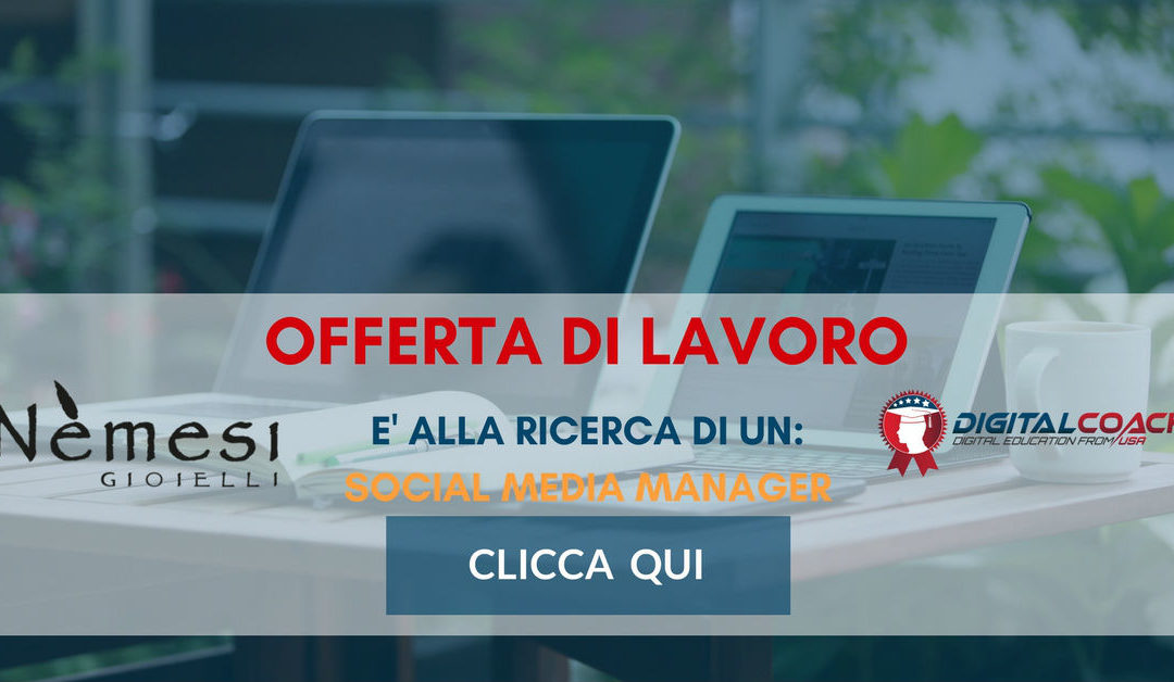 Social Media Manager – Prato – Nemesi