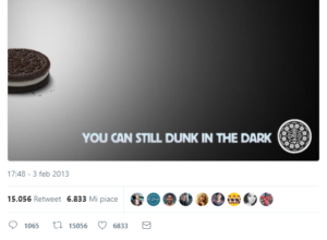 oreo real time marketing epic win