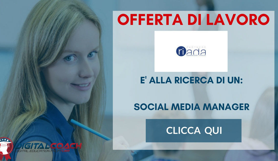 Social Media Manager – Bari – Riada Partners