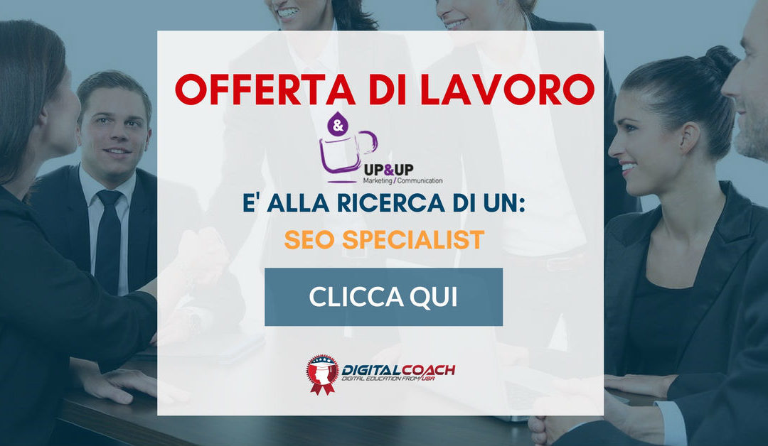 SEO Specialist – Brescia – Up&Up