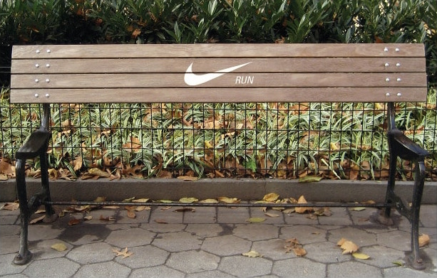 nike run guerrilla marketing