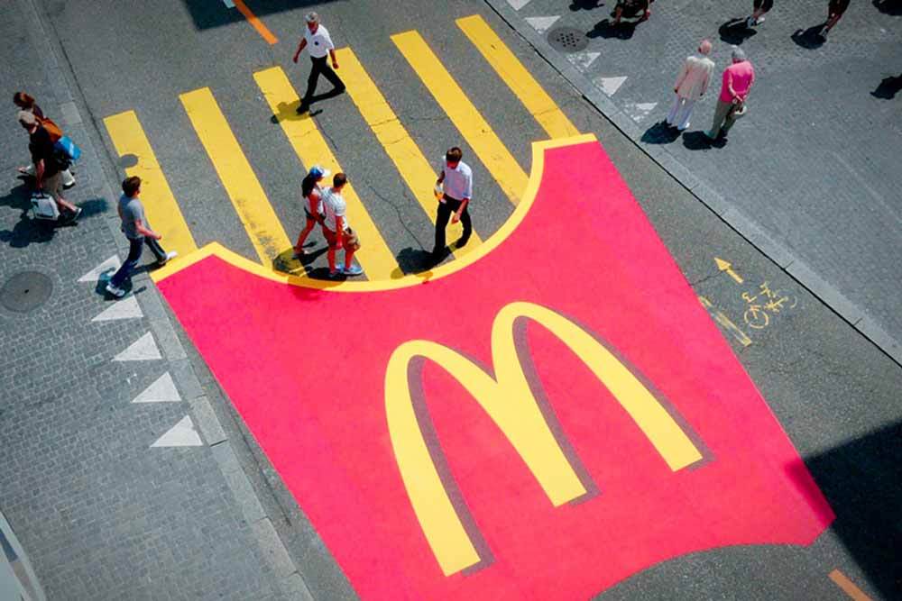 mc donalds guerrilla marketing