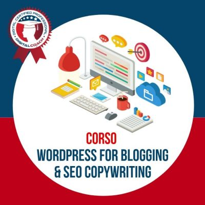 Corso Wordpress per Blog e Seo Copywriting cover