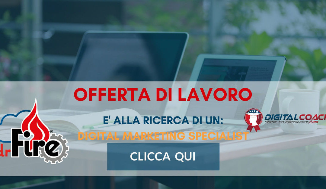 Digital Marketing Specialist – Modena – Dr.fire