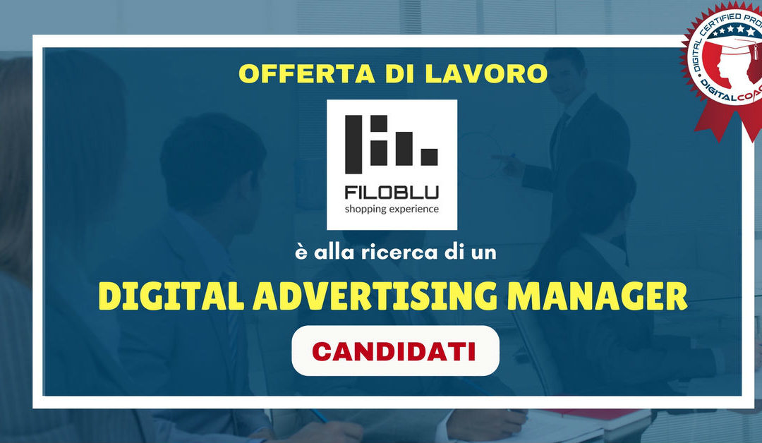 Digital Advertising Manager – Venezia – FiloBlu