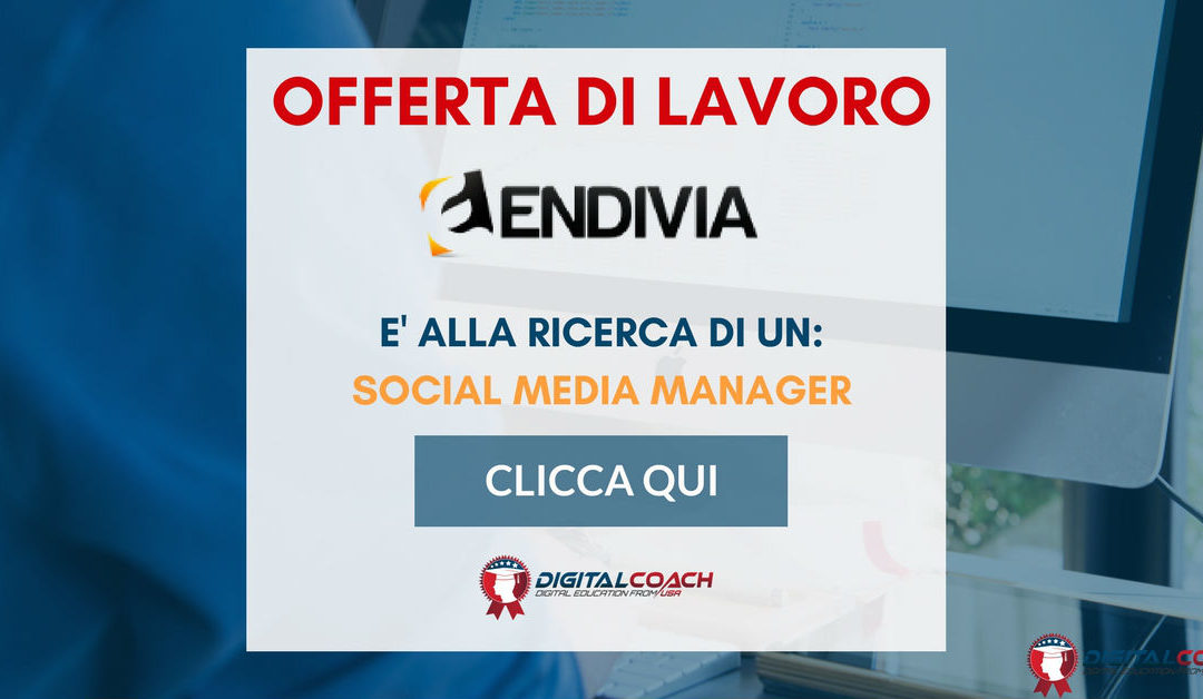 Social Media Manager – Milano – Envidia