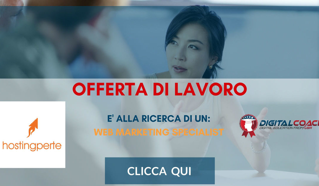 Web Marketing Specialist – Isernia – Armada Hostingperte.it