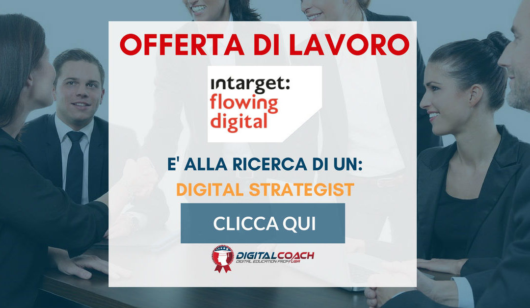 Digital Strategist – Pisa – Intarget