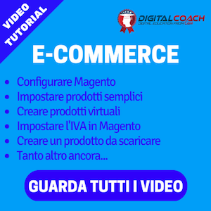 tutorial E-COMMERCE digital coach