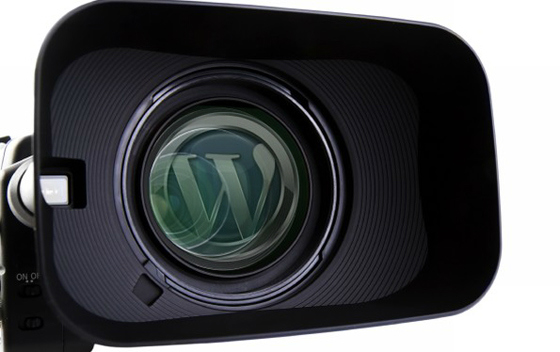Come inserire video in WordPress camera