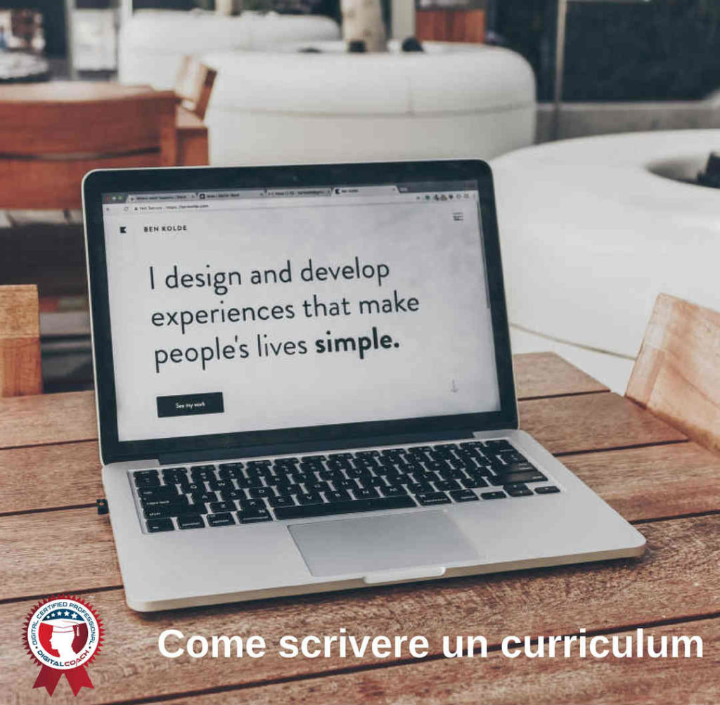 Come scrivere un curriculum vincente