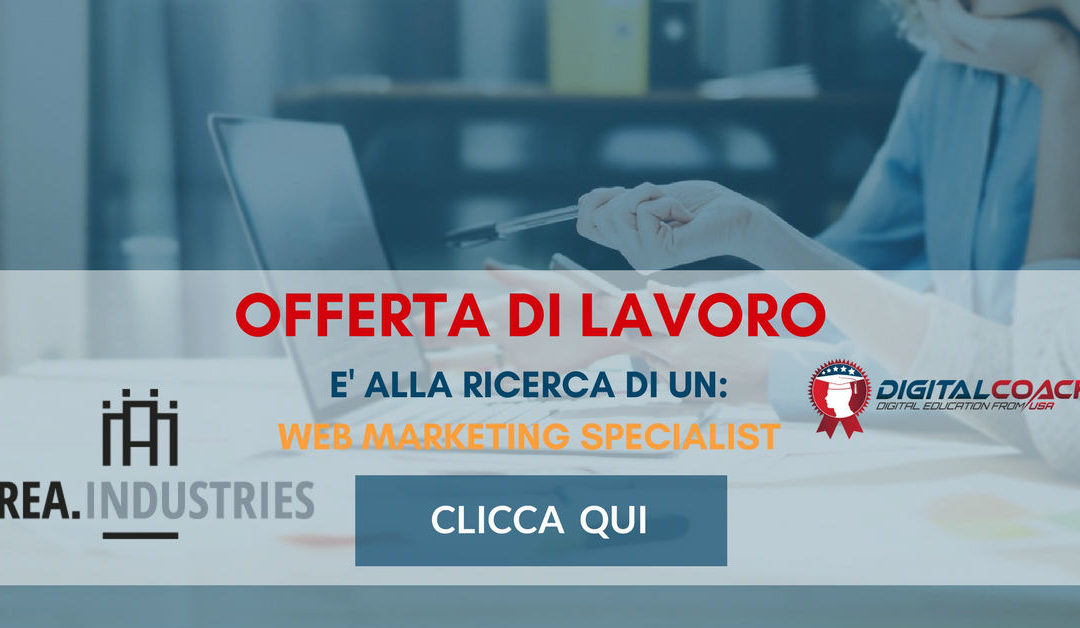 Web Marketing Specialist – Treviso – Area Industries