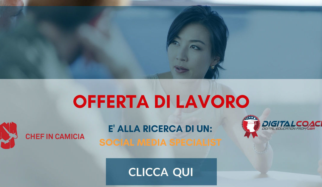 Social Media Specialist – Milano – Chef in Camicia Agency