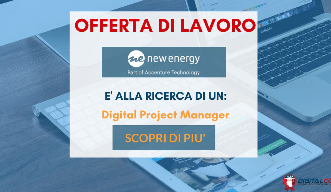 Digital Project Manager – Roma – New Energy Group