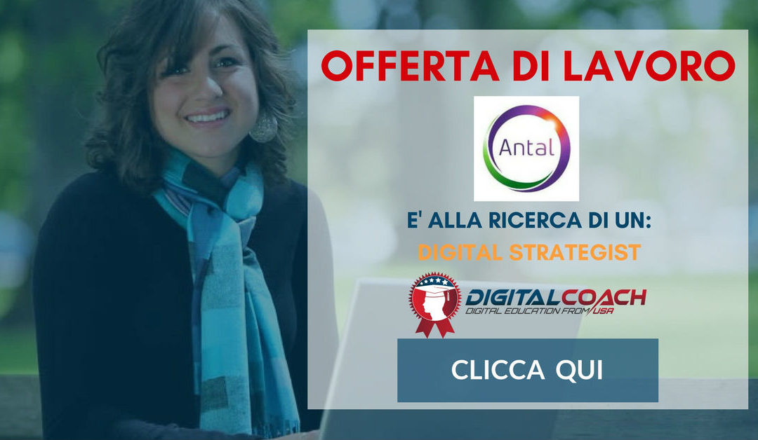 Digital Strategist – Bergamo – Antal International