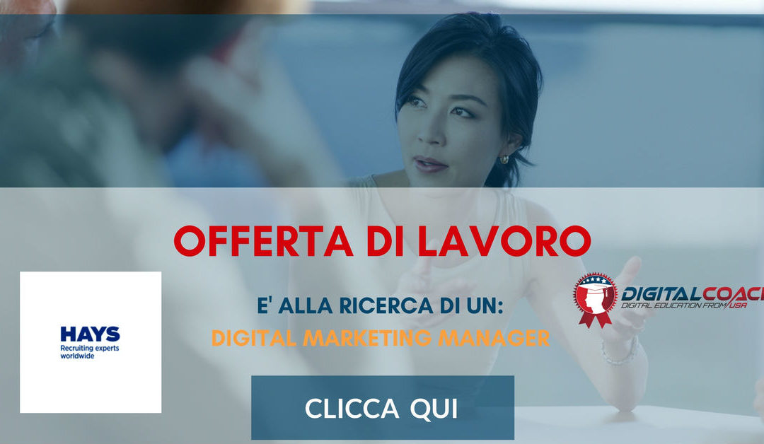Digital Marketing Manager – Milano – HAYS