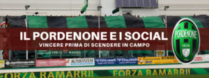 Pordenone Calcio social media marketing