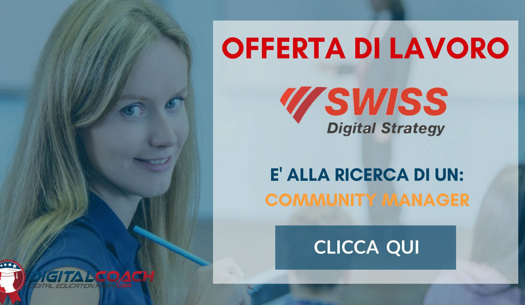 Community Manager – Como – Swiss Digital Strategy