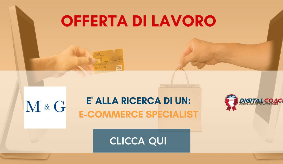 E-Commerce Specialist – Cuneo – M&G