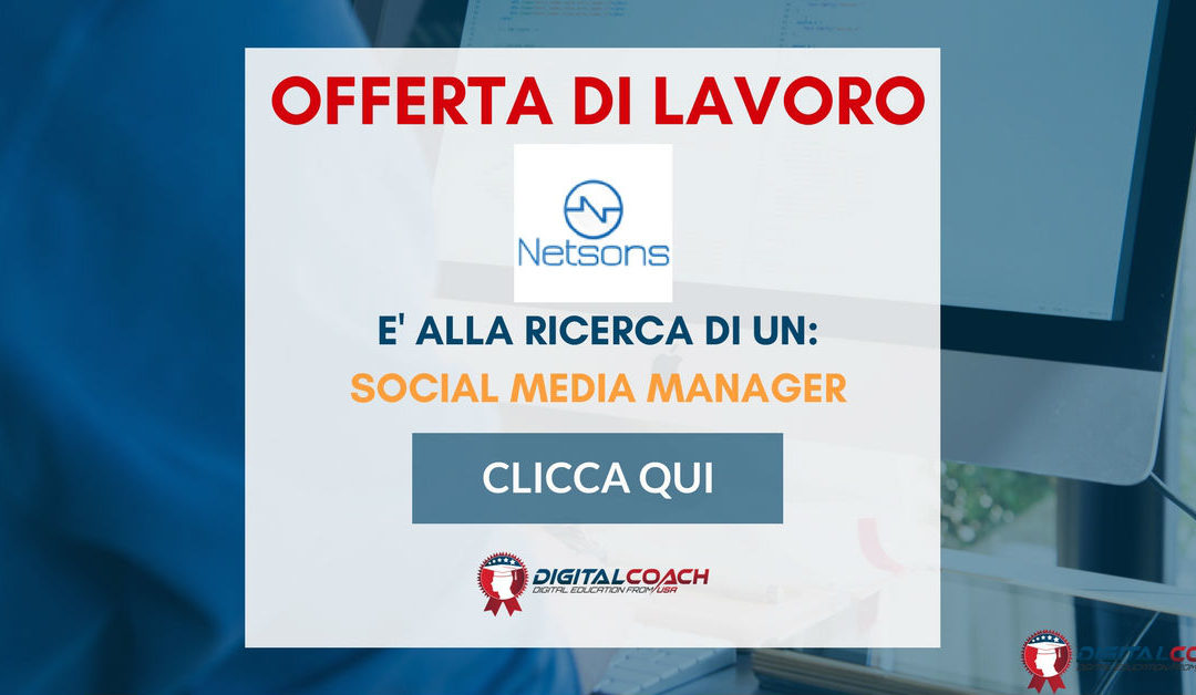 Social Media Manager – Pescara – Supernova
