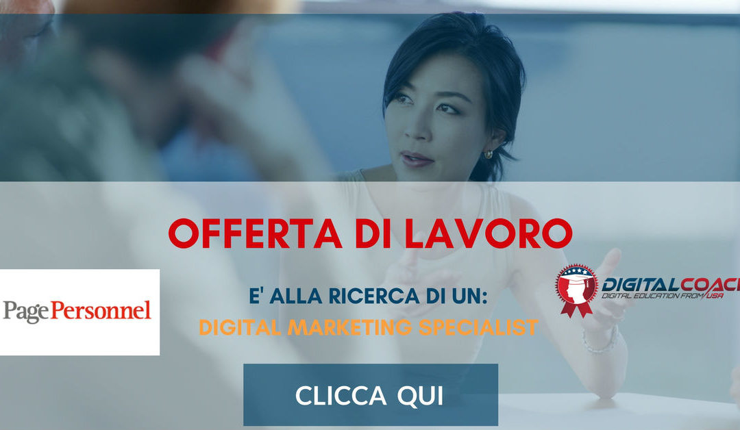 Digital Marketing Specialist – Ravenna – Page Personnel