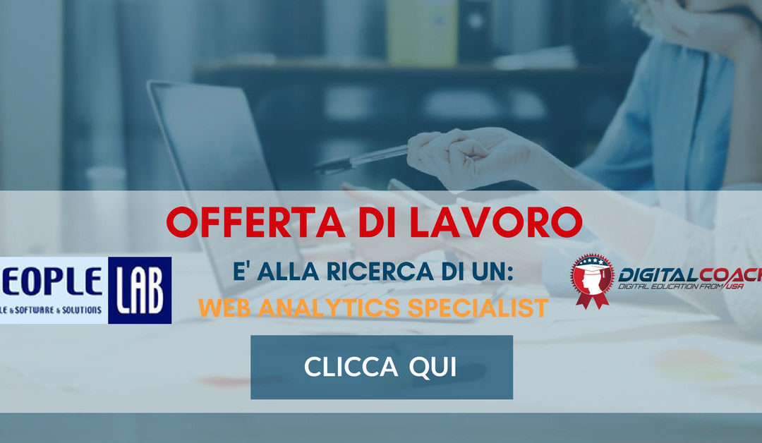 Web Analytics Specialist – Milano – PEOPLE LAB