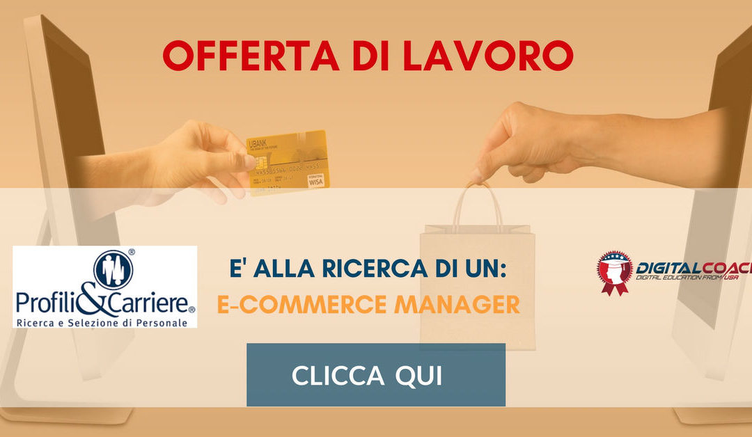 E-Commerce Manager – Cuneo – Profili&Carriere