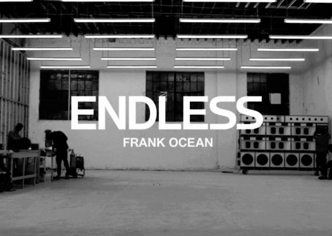 marketing discografico Frank Ocean Endless