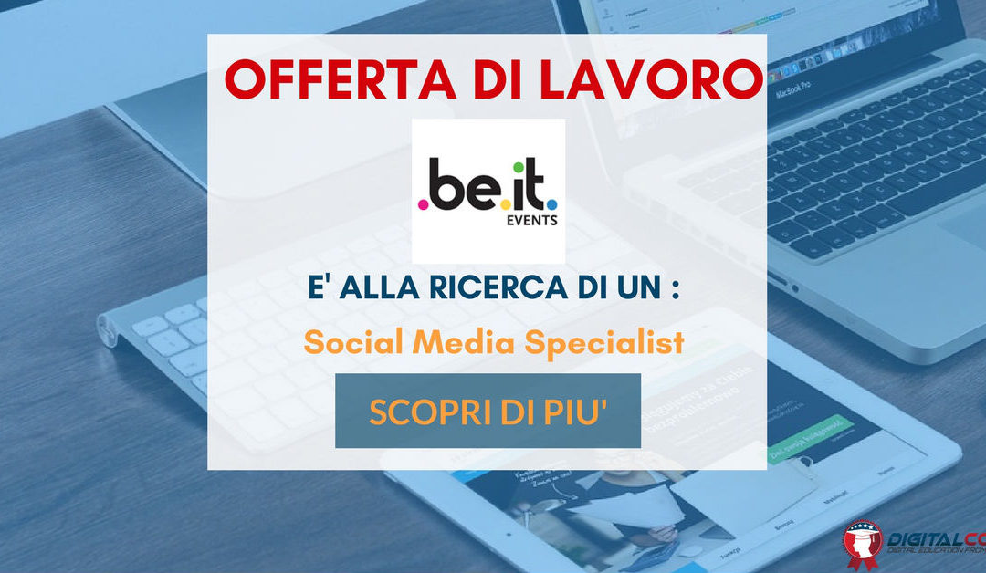 Social Media Specialist – Milano  – Beit Events