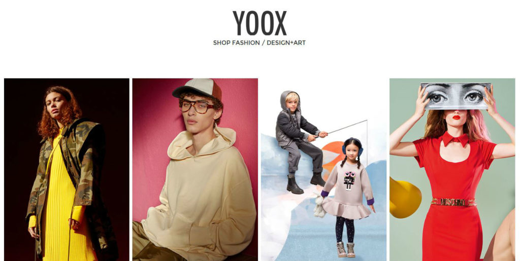 fashion ecommerce yoox
