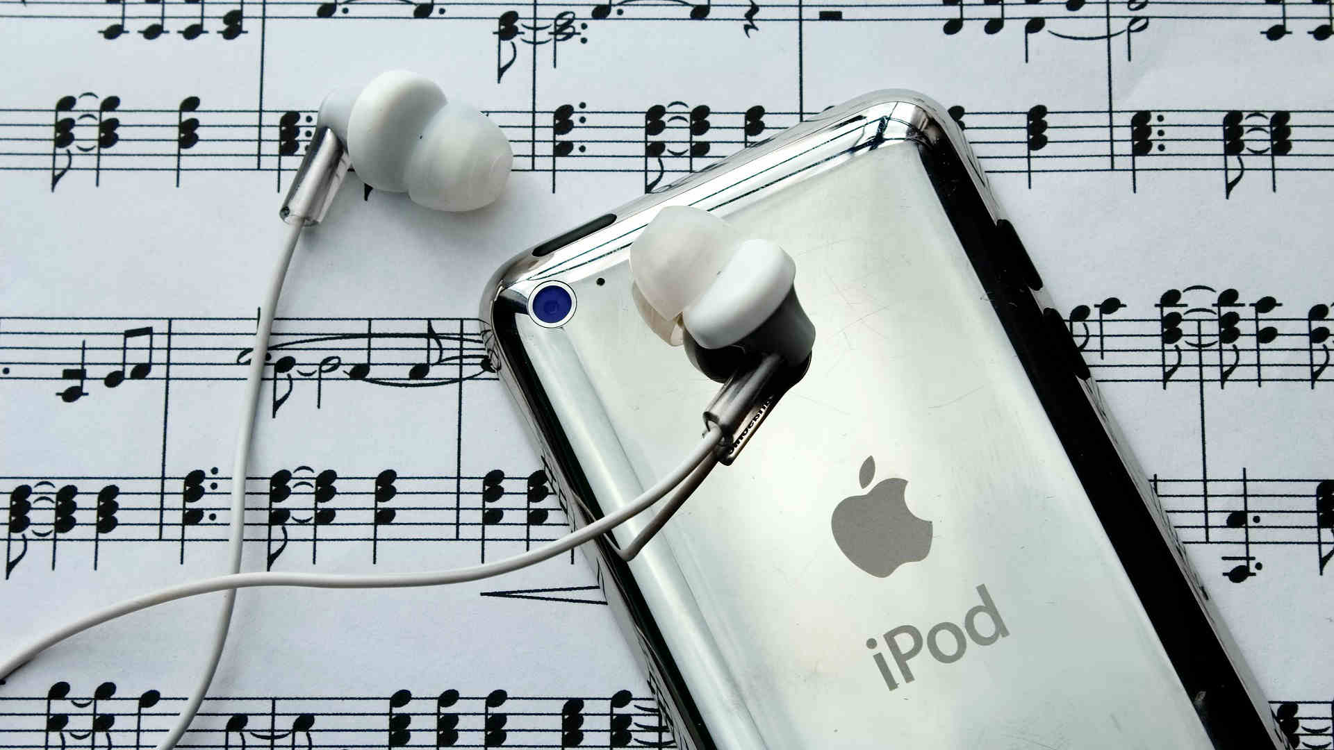 marketing discografico iPod Apple