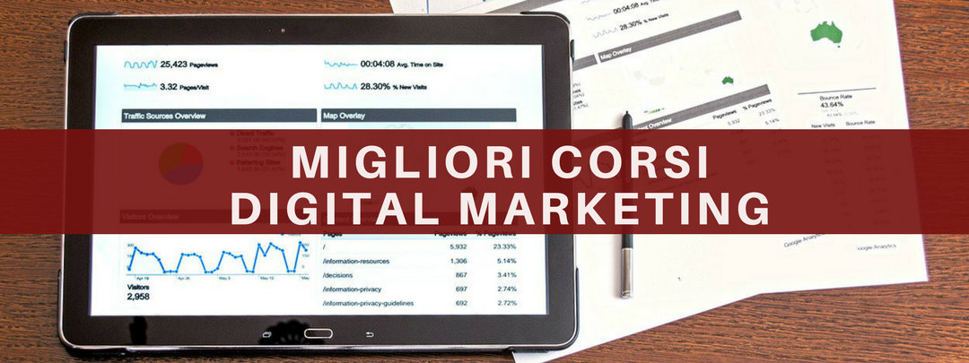 migliori corsi digital marketing