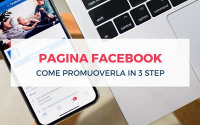 Promuovere una pagina Facebook in 3 step