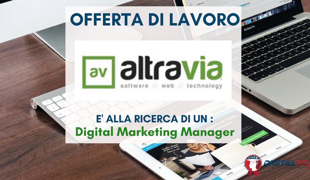 Digital Marketing Specialist – Roma – Altravia