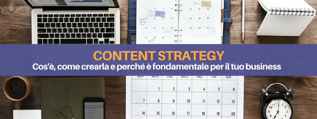 content strategy - evidenza