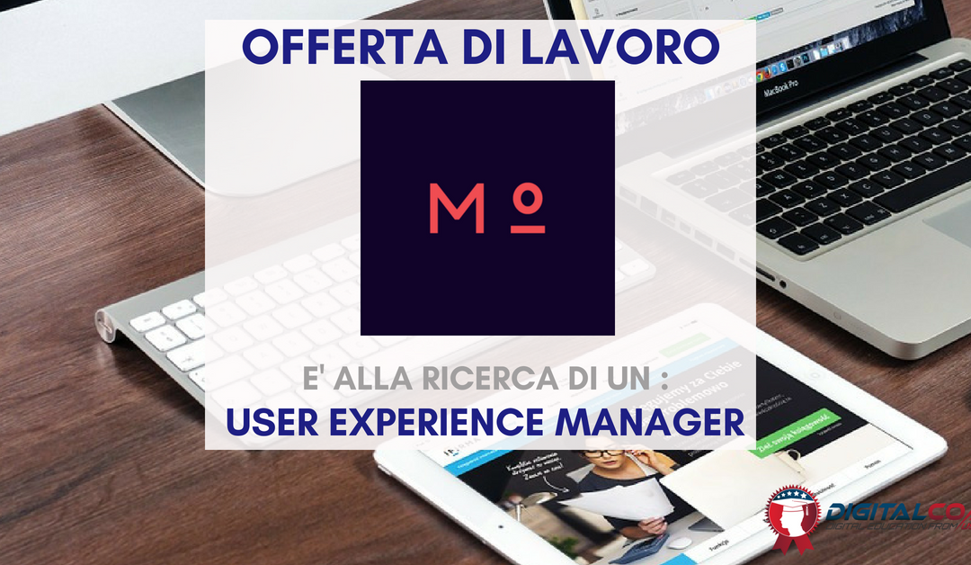 User Experience Manager – Milano o Roma – meritocracy.is