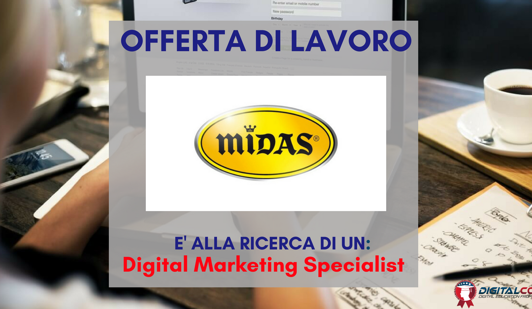 Digital Marketing Specialist – Torino – MIDAS