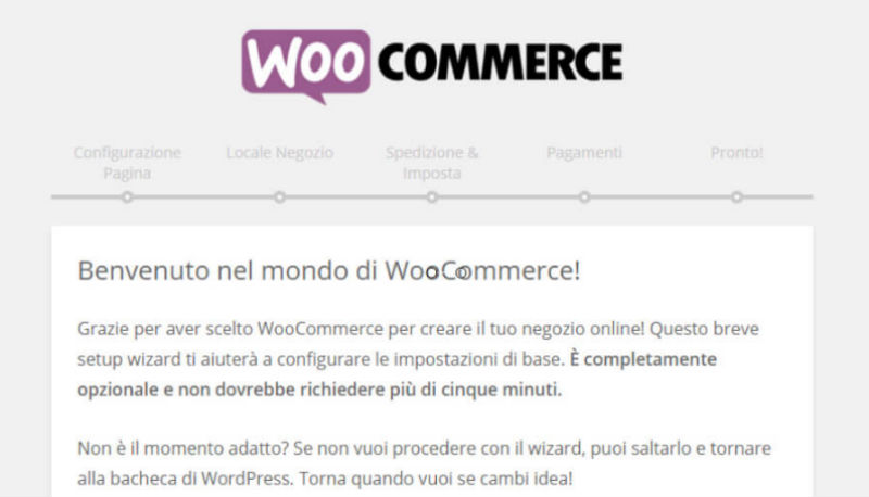 WooCommerce: primi passi nell'e-commerce