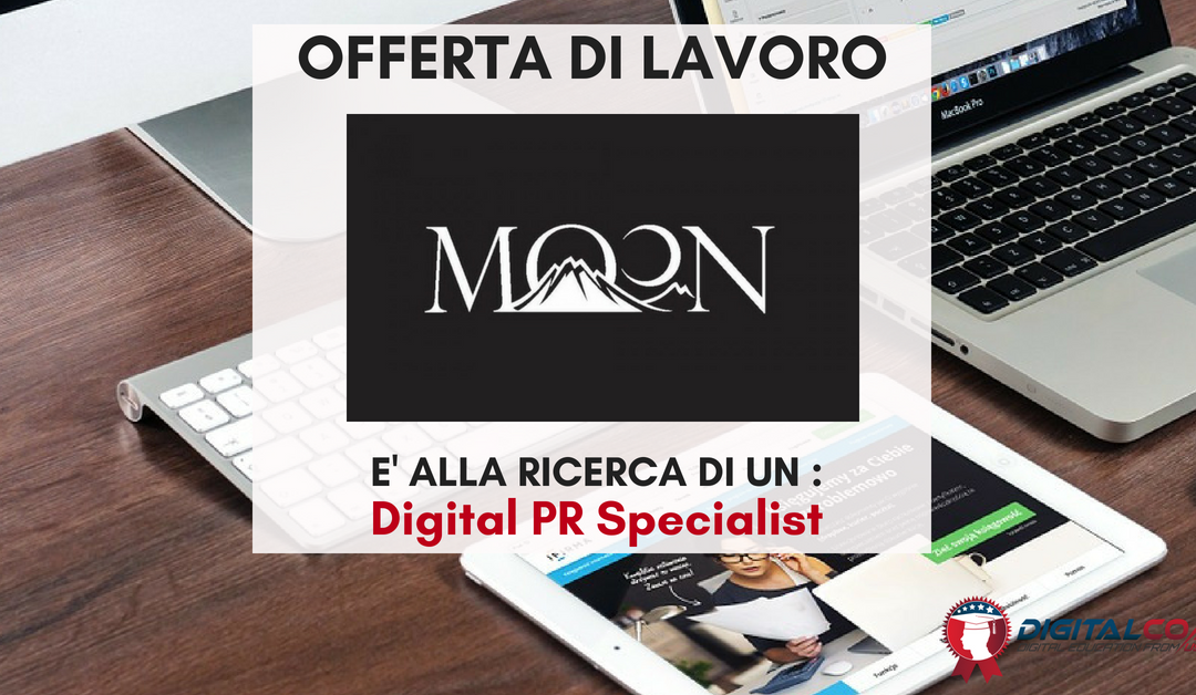 Digital PR Specialist – Modena – MOON