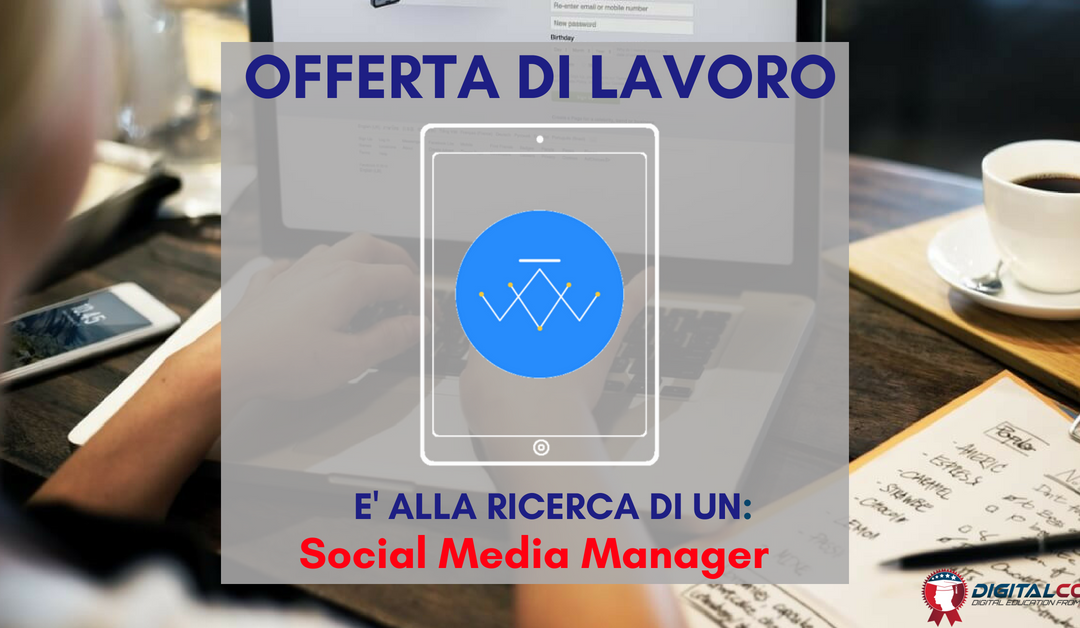 Social Media Manager – Padova – Web4designer