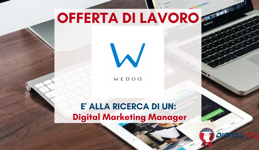 Digital Marketing Manager – Torino – WEDOO