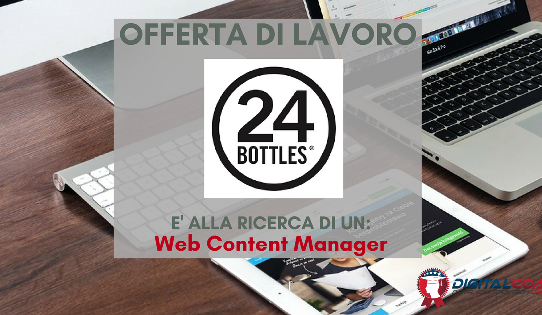 Web Content Manager – Bologna – 24 Bottles