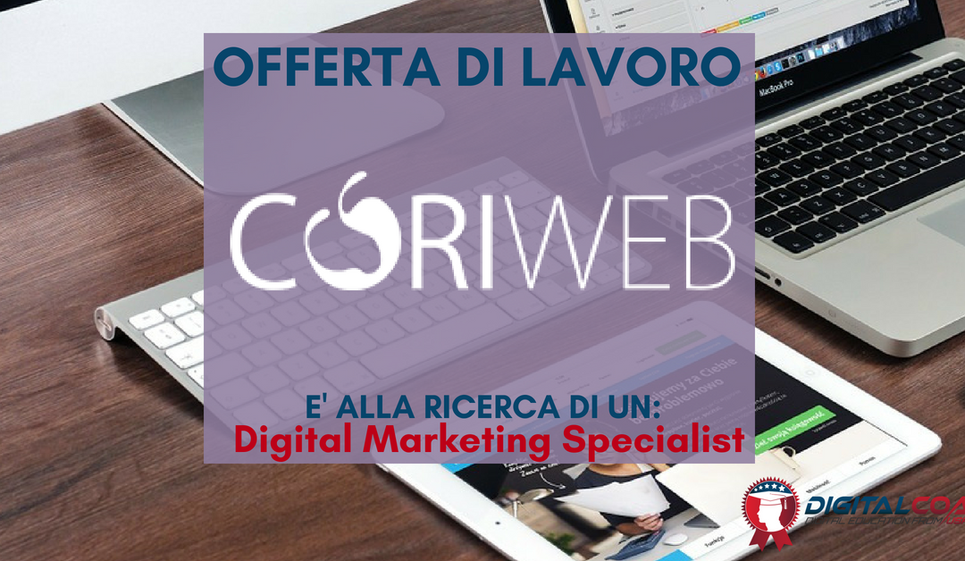 Digital Marketing Specialist – Bergamo –  CoriWeb