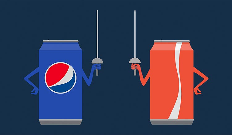 food marketing pepsi vs cola