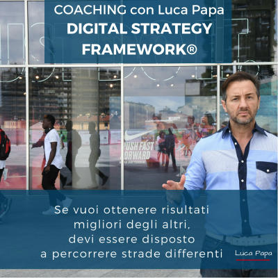 Coaching con Luca Papa Digital Strategy Framework