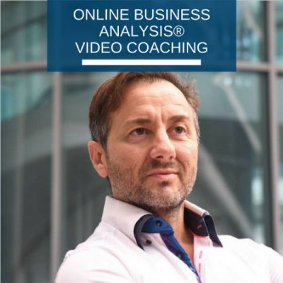 Online Business Analysis video coaching